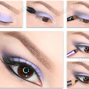 Purple Smokey Eyes Makeup Tutorial