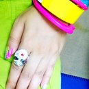 Top of the list nail design for this summer 2014 .