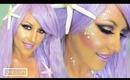 Halloween Look: Purple Mermaid Makeup Tutorial