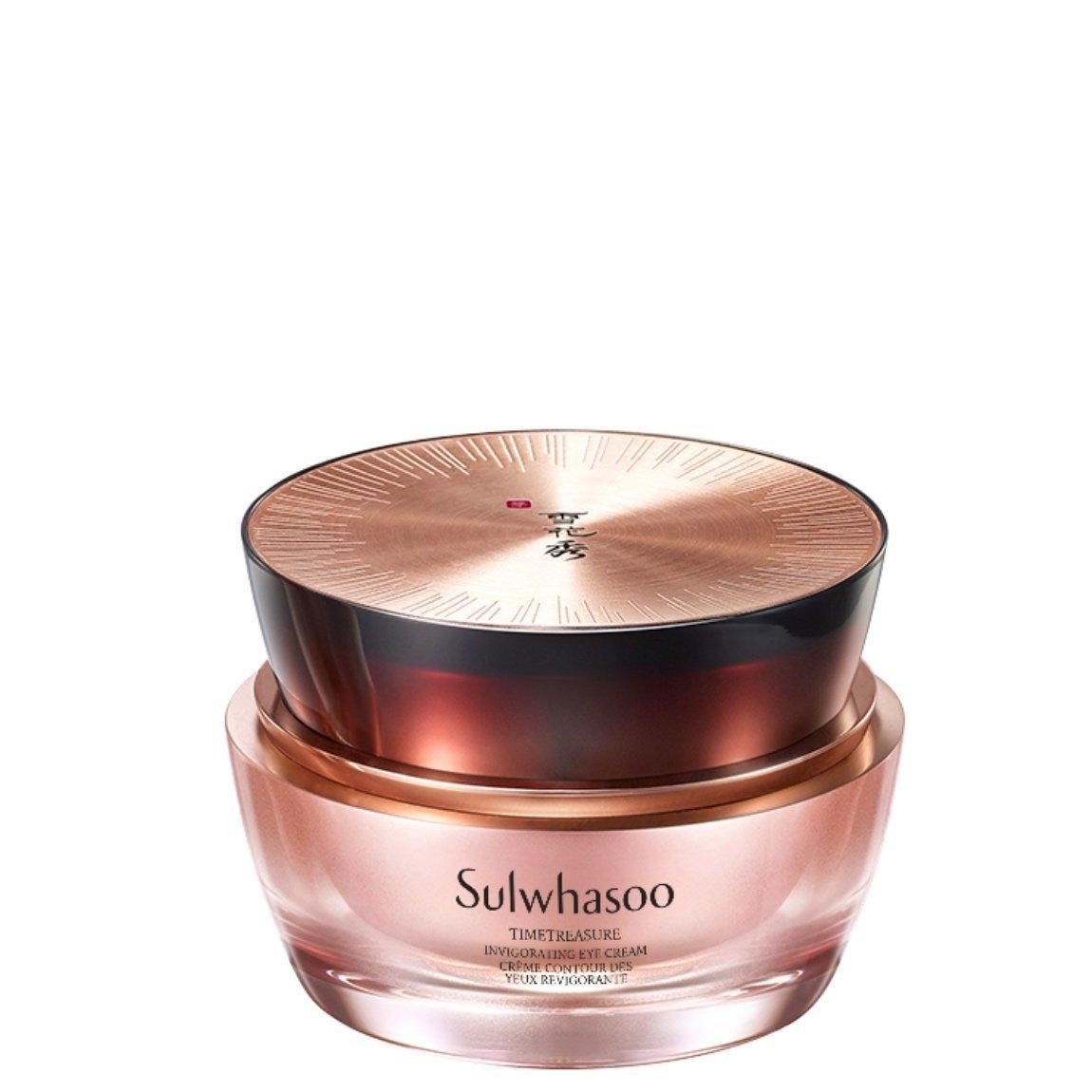 Sulwhasoo Timetreasure Invigorating Eye Cream product swatch.