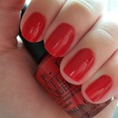 OPI Big Red Apple