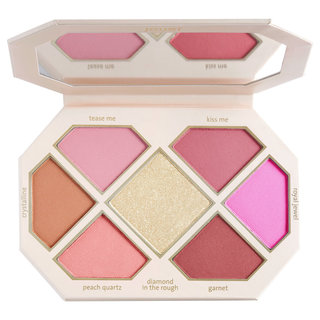 Jouer Cosmetics Rose Cut Gems Blush & Cheek Topper Palette