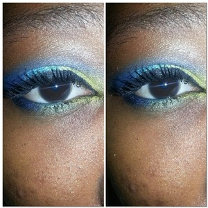 A look inspired by amother makeup artist. @Mac_junkiee