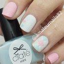 fuzzy argyle nails