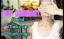 5 Min NON-Dominant Hand Makeup Challenge