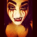 Halloween Make Up (: