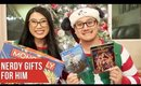 Christmas Gifts for Men 2018 | Movies, Games & Comic Books
