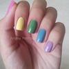 Skittle Nails