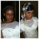 Before and after pix of d bride