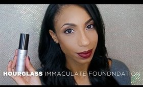 REVIEW: Oily Skin Miracle Worker? Hourglass Immaculate Foundation
