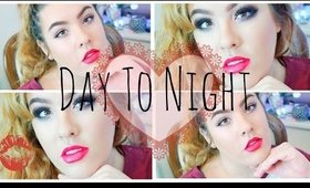 Day to Night Valentines look