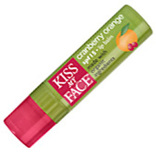 Kiss My Face Cran Orange Lip Balm with Organic Ingredients - SPF 15