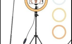 """Ring Light 10"""" with Tripod Stand & Phone Holder"""