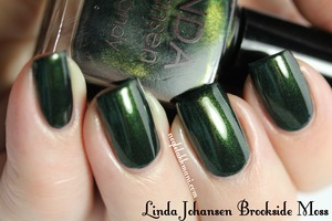 Linda Johansen Brookside Moss from The Little Black Dress Collection