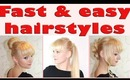 3 Cute and Easy Hairstyles for Teenagers