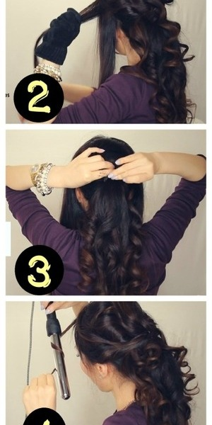 See how to do this on your own hair here - 