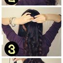 Easy Half-Updo Hairstyle With Voluminous Curls | Hair Tutorial Video