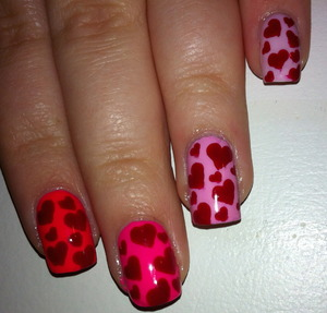 Valentines Day Ombre