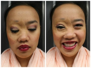 Hey y'all! I know it's been awhile since I've posted something on here, which I apologize for! Here is one of my favorite looks for fall!   Other products/shades not in database: Sephora Baked Bronzer duo in 01 Honey Heat Bare Minerals loose eyeshadow in Red Velvet (crease) and Tiramisu (outer corner) from a REALLY OLD set Urban Decay 24/7 liner in Junkie Buxom lip polish in Brianna