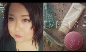 Empties #1 | Korean Skincare Products