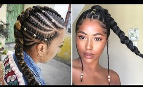 Cute Hairstyles Made for Retaining Length and Gaining Inches Part 2