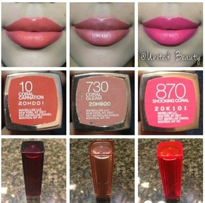 Talking about corals here are my favorite coral lipsticks