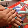 Animation and comic nails