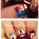 My Holiday Nail art of 2012