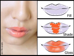With an extra colour and gloss, you can easily make more eye catching lips!  More photos and product list at this link : http://myfatpocket.com/valerie/2013/04/tutorial-dainty-lippie.html