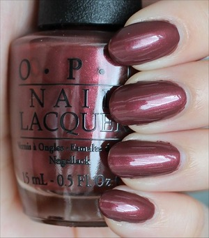 From the San Francisco Collection. Click here to see my in-depth review and more swatches: http://www.swatchandlearn.com/opi-i-knead-sour-dough-swatches-review/