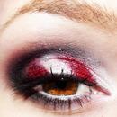Candy cane eyes!!