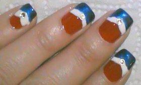 Patriotic 4th of July Nail Art Tutorial