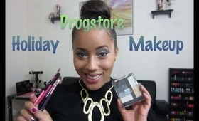 Drugstore Holiday Makeup Tutorial & Review Using NYC New York Color IndividualEyes Custom Compact