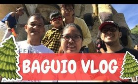 Baguio City Travel Vlog - Day 1 Part 1  | Team Montes