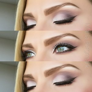 Look created using The Balm Cosmetics Meet Matt(e) Nude eyeshadow palette. www.mariabergmark.wordpress.com