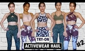 Activewear/Fitness Haul #2 + TRY-ON ♡ Lurv  | Karren Mitzelle