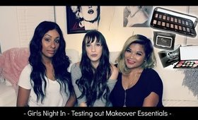 Girls Night In | First Impression Review of ME Makeover Essentials Makeup Line