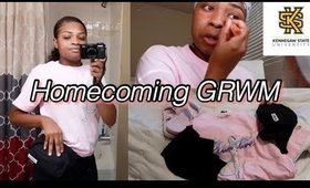 GRWM for Homecoming 2019| Kennesaw State University