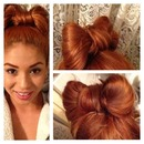 updo bow