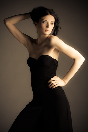 Fashion shoot with amazing model Taz Nowy