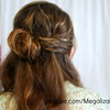 Romantic Twisted Half Up Hairstyle