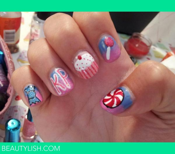 Katy Perry inspired nails. | Maya J.\'s Photo | Beautylish