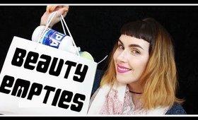 Huge Makeup & Beauty EMPTIES Oct '16 | LetzMakeup
