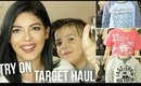 TARGET CLOTHING HAUL | FALL KID FASHION | SCCASTANEDA