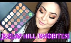 Morphe Brushes Jaclyn Hill Favorites Palette Tutorial | TinaMarieMakeup