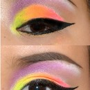 Colourful Cat Eye