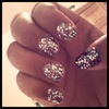All Out Glitter Nails