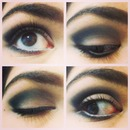 Angled Black Eyeshadow