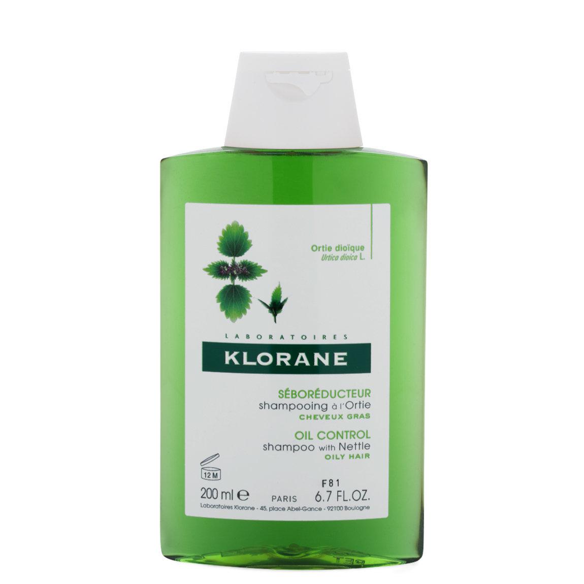 Klorane Shampoo with Nettle 6.7 oz alternative view 1 - product swatch.