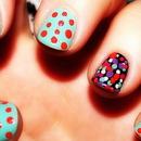 Ditsy Dot Nails